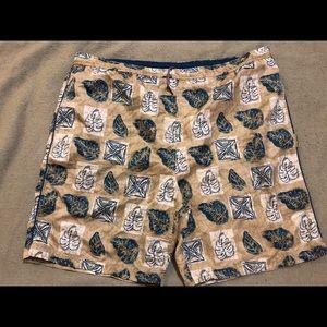 Vintage Mens Fubu swim shorts